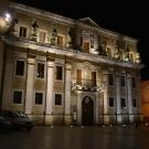 Centrum Brindisi wieczorem