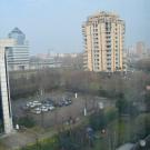 Widok z okna hotelu Novotel Brescia Due